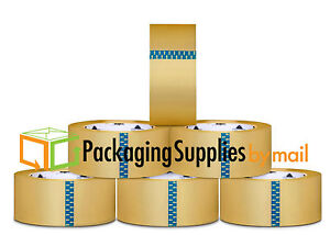 6 X 72 Yards 540 Rolls psbm Clear Carton Sealing Packing 2 Mil Shipping Tape