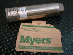 Myers 4 Submersible Well Pump 1hp Ss10 35 01