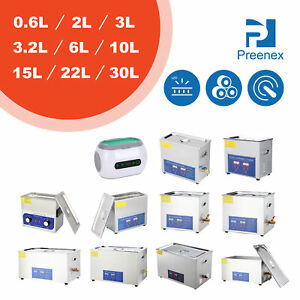 New Industrial Grade Professional Ultrasonic Cleaner Heater For Lab Dental Fcc