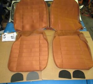 New Seat Covers Upholstery Mgb 1973 80 Made In Uk Autumn Leaf 1 2 Cloth