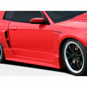 Cbr500 Wide Body Side Skirts Rocker Panels 2 Piece Fits Ford Mustang 99 04