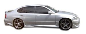 Gs300 Gs400 Gs430 Cyber Side Skirts Rocker Panels 2 Piece Fits Lexus Gs Ser