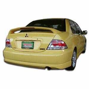 Rally Rear Bumper Lip Body Kit 1 Pc For Mitsubishi Lancer 04 07 Durafl