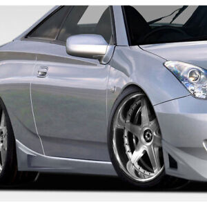 Rm Design Side Skirts Rocker Panels 2 Piece Fits Toyota Celica 00 05 Durafl