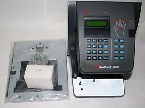 Icontime New Handpunch Hp 4000 Biometric Hand Scanner Time Clock W Ethernet Rsi