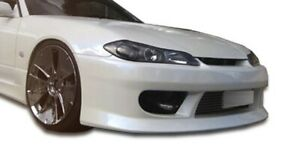 S15 V Speed Front Bumper Body Kit 1 Pc For Nissan Silvia 99 02 Durafle
