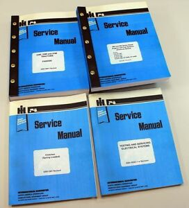 Lot International 3388 3588 3788 Tractor Service Repair Shop Manual Engine more