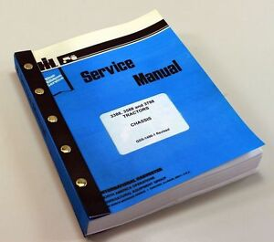 International 3388 3588 3788 Tractor Service Repair Shop Manual Chassis Ih