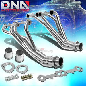 Stainless Steel Long Tube Header For 67 77 Action line Sbc V8 Exhaust manifold