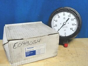 Mcdaniel Controls Pressure Gauge Part Number Ab 91007 0 160 Psi New