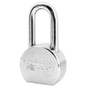2 Ea American A701 2 1 2 Round Solid Steel Re keyable Case Hardened Padlocks