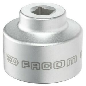 Facom Tools 6 Piece Low Profile Fuel Oil Filter Wrench Sockets Storage Case