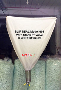 Slip Seal Model 601 20 Cubic Foot Loose Fill Packing Peanut Dispenser