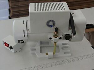 Sewing Machine Servo Electric Motor W Adjustable Speed 110v 550w New 3 4hp