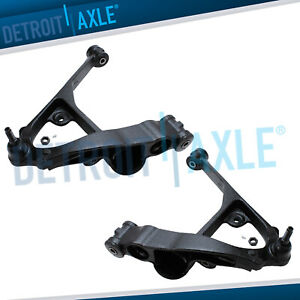 Chevy Avalanche Suburban Silverado 1500 Tahoe Pair Front Lower Control Arm Kit
