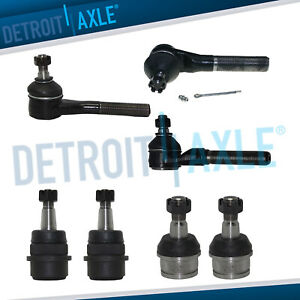 7pc Front Tie Rod Ball Joint Kit For 1991 2003 2004 2005 2006 Jeep Wrangler Tj