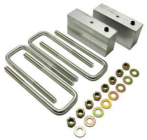 1947 55 Chevy Truck And Gmc Truck 3 Lowering Block Kit Stock Rear End