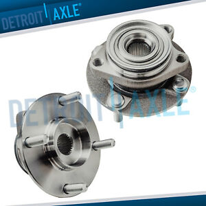 Both 2 New Front Wheel Hub Bearing Assembly For Nissan Tiida And Versa