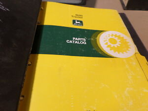 John Deere 4640 Tractor Parts Catalog Manual Pc1613