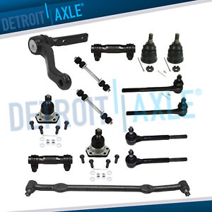 New 14pc Complete Front Suspension Kit For Chevrolet Pontiac Oldsmobile Buick
