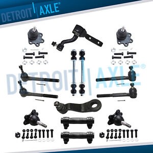 New 14pc Complete Front Suspension Kit For Chevrolet And Gmc K1500 4x4