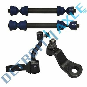 Idler Pitman Arm Steering Set W front Sway Bar End Link Kit 4x4 Suburban