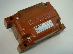 Gemco Ametek Rotary Limit Switch 375 1 2000 2029