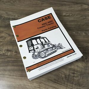 Case 450c 455c Crawler Loader Tractor Dozer Parts Manual Catalog Exploded Views