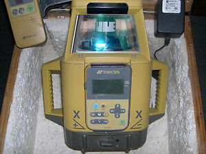 Topcon Rt 5sb Dual Slope Rotating Laser Level With Remote