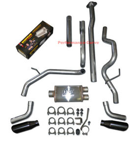 09 14 Ford F150 Catback Dual Exhaust Side Exit Magnaflow Muffler