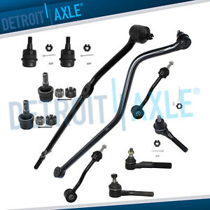 New 11pc Complete Front Suspension Kit For 1997 2006 Jeep Tj Wrangler