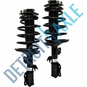 7 Passenger Pair Complete Front Strut Coil Spring For 1998 2003 Toyota Sienna