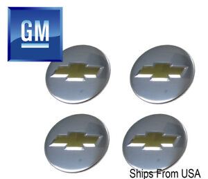 New Factory Oem Chrome Chevy Center Caps 2 1 4 9594156 Set Of 4 9597551