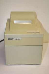 Star Micronics Tsp 200 Point Of Sale Thermal Printer