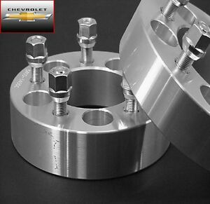 2 Pc Chevy Camaro 5x4 75 Wheel Adapter Spacers 1 25 Inch 5475b1215