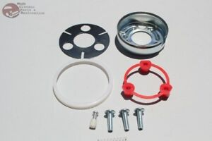 Chevy Gm Steering Wheel Horn Cap Contact Mounting Kit Set Camaro Impala Nova New