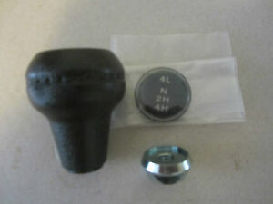 Jeep Cj 5 7 8 Shift Knob Kit Dana 300 Transfer Case Knob Insert Lock Nut