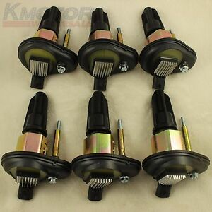 New Ignition Coil Set Of 6 For 2002 2005 Chevy Trailblazer Gmc Canyon Envoy H3