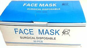 Disposable Surgical Face Masks With Ear Loop 2000 Masks 2 Cents Each