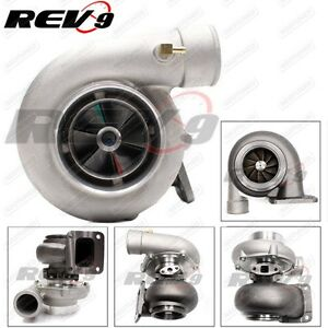 Rev9 Tx 72 68 Turbo Charger 81ar T4 Flange 3 In V Band Exhaust Oil Cooled 700hp