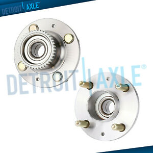 Both 2 New Rear Wheel Hub Bearing Assembly For Aveo Aveo5 G3 Wave Rear Abs