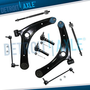 Caliber Jeep Compass Patroit 8pc Front Lower Control Arm Set Suspension Kit