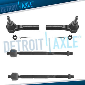 Dodge Caliber Jeep Compass Patriot All 4 Brand New Inner Outer Tie Rod