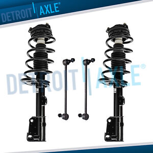 4pc Front Strut Sway Bar Links 2008 2018 Dodge Grand Caravan Town And Country