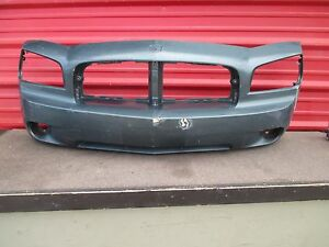 Dodge Charger Front Bumper Cover Oem 2006 2007 2008 2009 2010 06 07 08 09 10