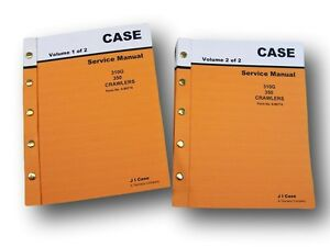 Case 310g 350 Crawler Dozer Backhoe Service Repair Manual Technical Shop Book