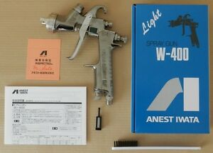 Anest Iwata W 400 251g 2 5mm Gravity Spray Gun Without Cup New From Japan