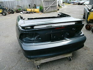 1994 1998 Ford Mustang Rear Clip Assembly W Quarters Trunk Bumper Cvr Spoiler