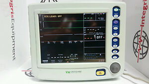 Criticare Ncompass 8100h Patient Monitor Ecg nibp spo2 t printer Biocertified