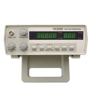 Victor Vc2002 Function Signal Generator 5 Digits 0 2 Hz 2 Mhz 7 Frequency